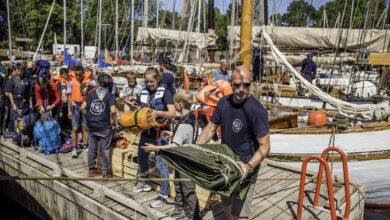 Nr 1 - Sjøspeiderleir på Lindøy